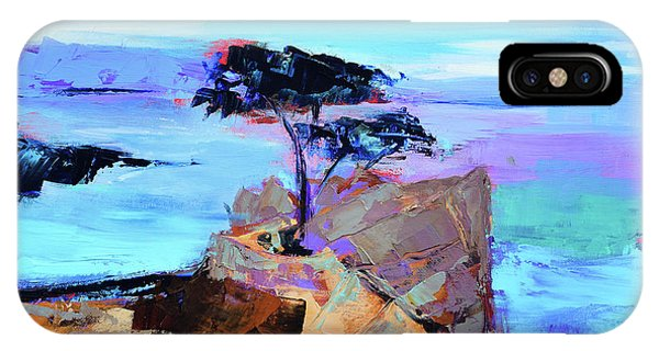 Monterey iPhone Case - Lone Cypress - California by Elise Palmigiani