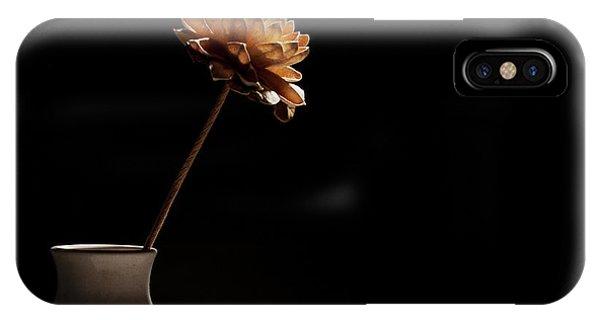 Lone Flower IPhone Case