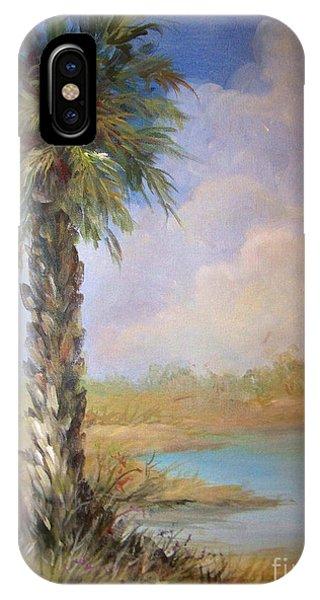 Lone Palm IPhone Case
