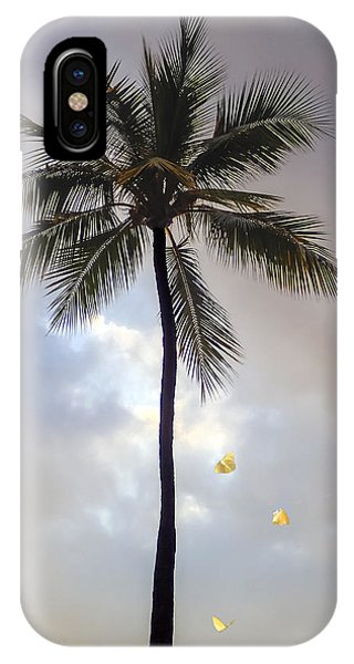 Lone Palm Tree IPhone Case