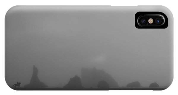 IPhone Case featuring the photograph Lone Rider by Dylan Punke