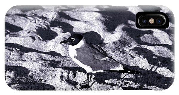 Lone Seagull IPhone Case