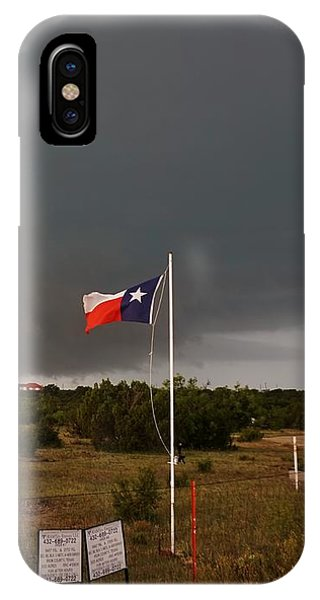 Lone Star Supercell IPhone Case