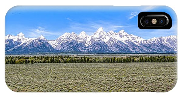 Lone Tree And The Tetons IPhone Case