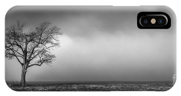Lone Tree In The Mississippi Delta IPhone Case