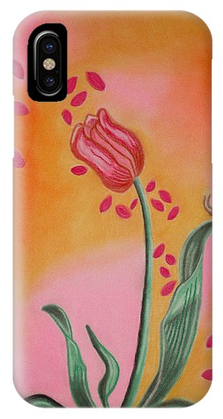Lone Tulip IPhone Case