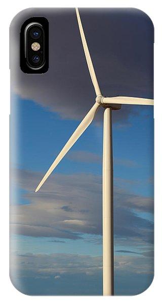 Lone Turbine IPhone Case