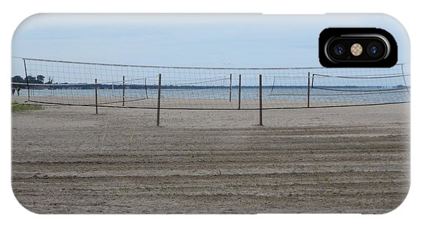 Lonely Beach Volleyball IPhone Case