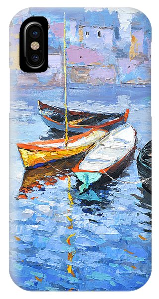 Lonely Boats  IPhone Case