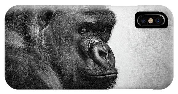 Lonely Gorilla IPhone Case