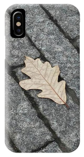 Lonely Leaf IPhone Case