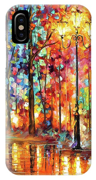 iPhone Case - Lonely Light by Leonid Afremov