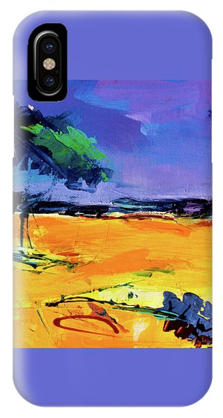 Umbrella Pine iPhone Case - Umbrella Pine Tree In Provence by Elise Palmigiani