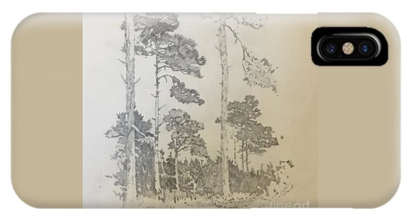 Lonely Pines IPhone Case