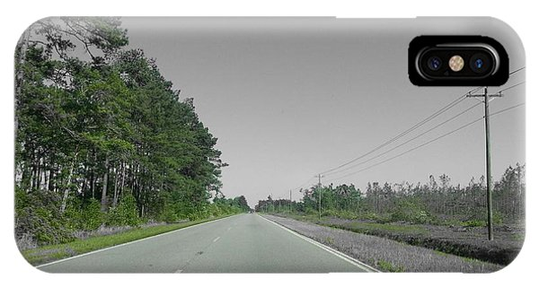 Lonely Road Phone Case by Chris Short