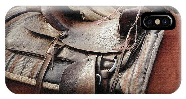 Lonely Saddle  IPhone Case