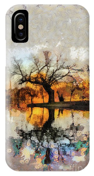 Lonely Tree And Its Thoughts IPhone Case