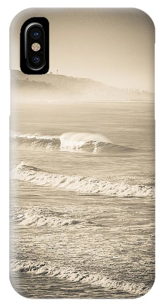 Lonely Winter Waves IPhone Case