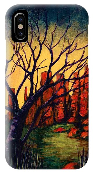 Lonesome Tree  IPhone Case