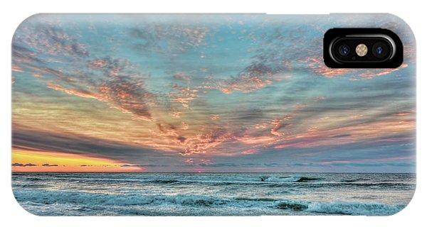 Long Beach Island Sunrise IPhone Case