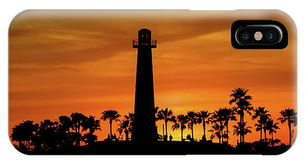 Long Beach Lighthouse IPhone Case