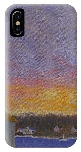 Long Cove Sunrise IPhone Case