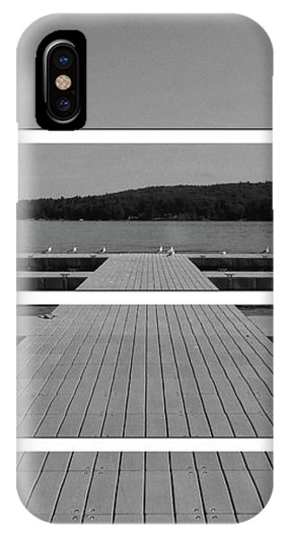 Long Lake Dock IPhone Case