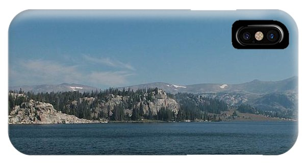 Long Lake Shoshone National Forest IPhone Case