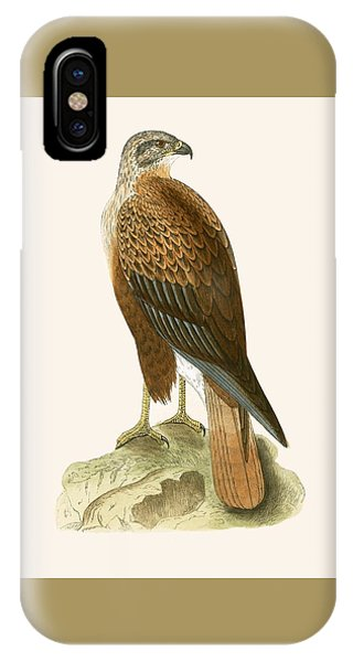 Long Legged Buzzard IPhone Case