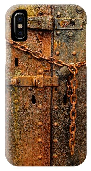 Long Locked Iron Door IPhone Case