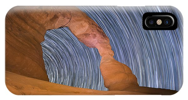 Long Night At Delicate Arch IPhone Case