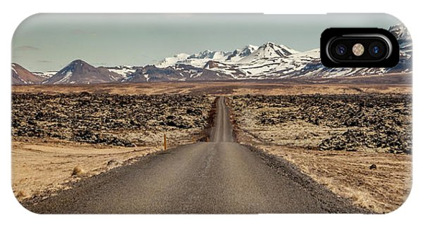 Long Road Ahead IPhone Case