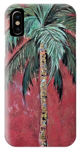 Longboat Key Palm IPhone Case