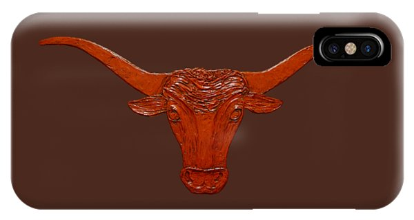 Longhorn 2 IPhone Case