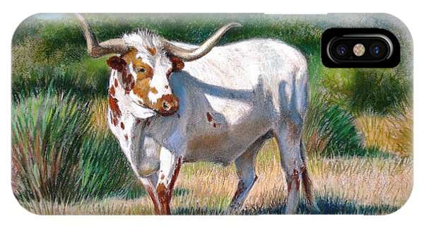 Longhorn Bull IPhone Case