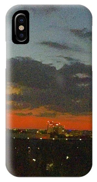 Longhorn Dusk IPhone Case