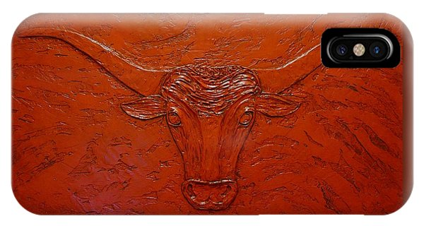 Longhorn IPhone Case