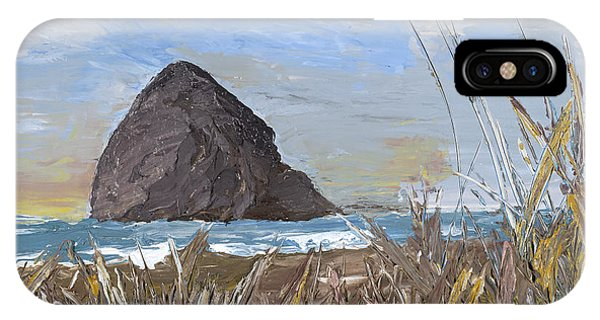 Longing For The Sounds Of Haystack Rock IPhone Case