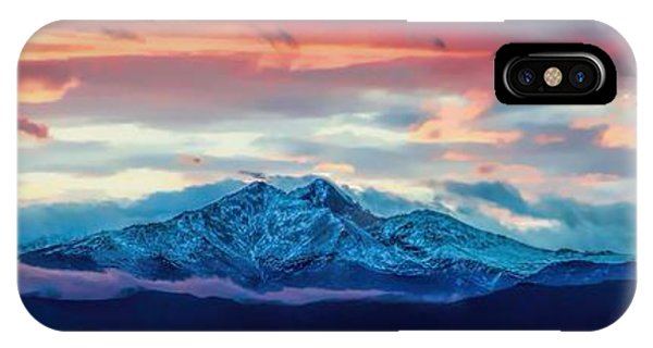 Longs Peak At Sunset IPhone Case