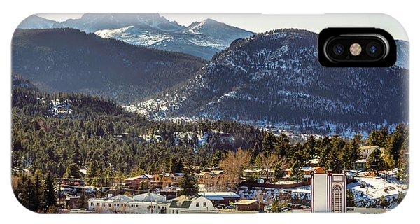 Longs Peak From Estes Park IPhone Case