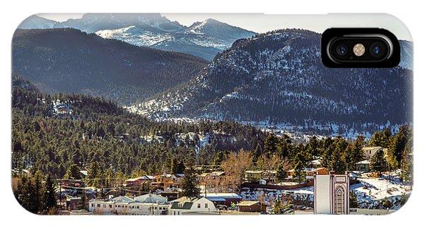 Longs Peak From Estes Park IPhone Case