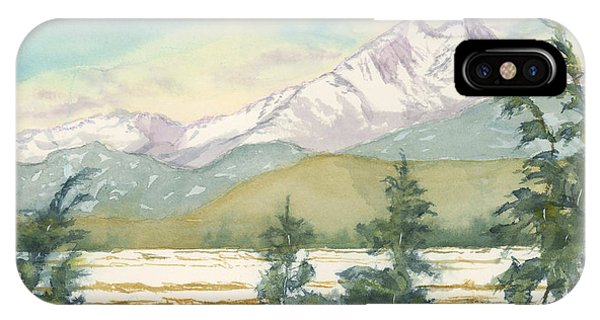 Long's Peak From Longmont IPhone Case