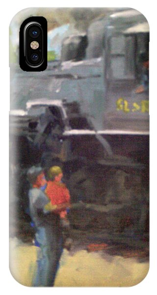 Look At The Train IPhone Case
