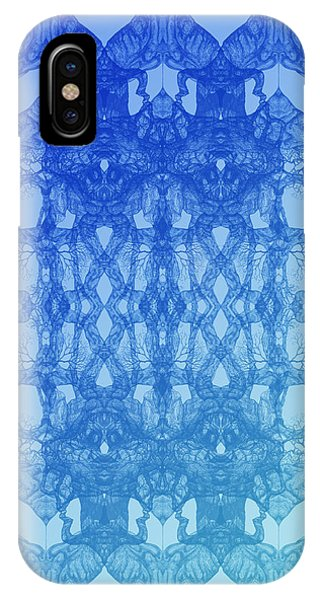 Look At You Tree 11 Hybrid Blue IPhone Case