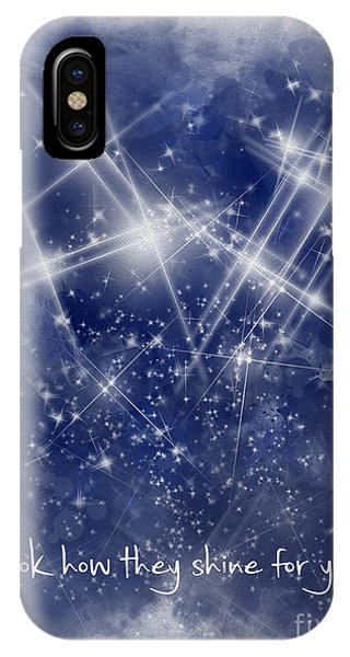 Look How They Shine For You IPhone Case