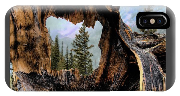 Look Into The Heart IPhone Case