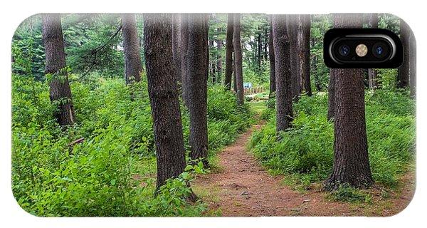 Look Park Nature Path IPhone Case