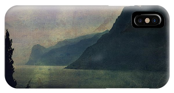 Looking At The Lake... IPhone Case