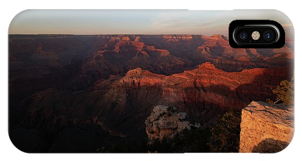 Looking At The North Rim Of The Canyon. IPhone Case