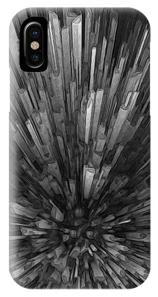 Visual Illusion iPhone Case - Looking Down At Downtown by Jack Zulli